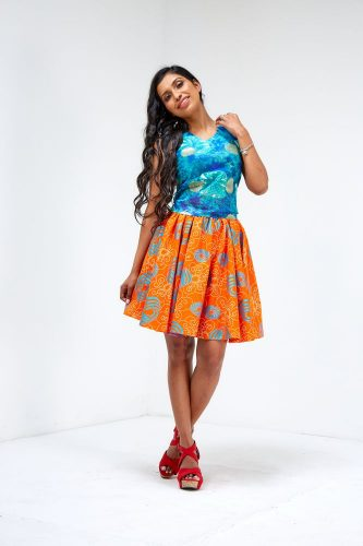 limpo curve flared skirt 3