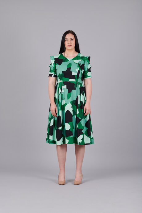 Camouflage-Stretch-Dress