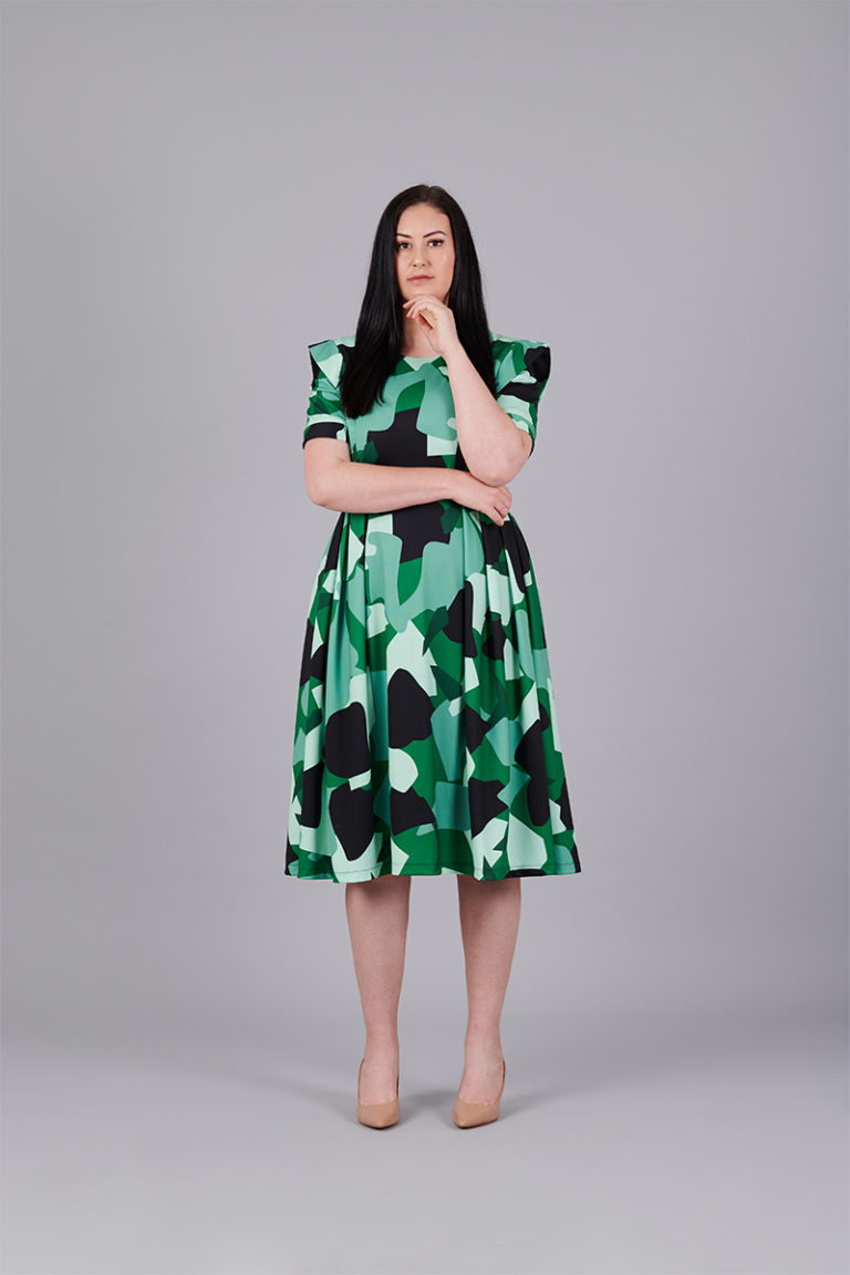 Camouflage-Stretch-Dress-front