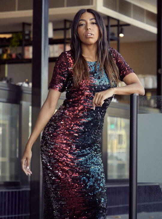 Iridescent-Sequin-Dress-front